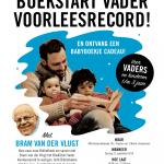 BoekStart Vader Voorleesrecord Bram van der Vlugt Amsterdam