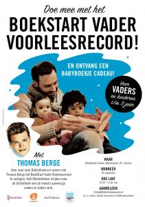 BoekStart Vader Voorleesrecord Thomas Berge Emmen