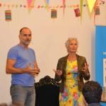 Leo Blokhuis en Anke Kranendonk heten de vaders in Deventer welkom