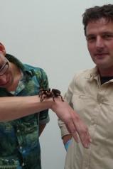 Wie is er bang voor spinnen?